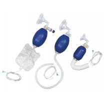 Airlife Resuscitator Bag with Nasal / Oral Mask