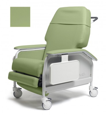 lumex extra wide clinical care geri chair recliner 614