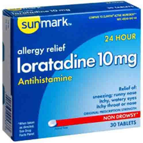Sunmark Loratadine Allergy Relief Tablets