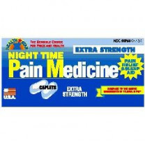 Night Time Pain Relief and Sleep Aid