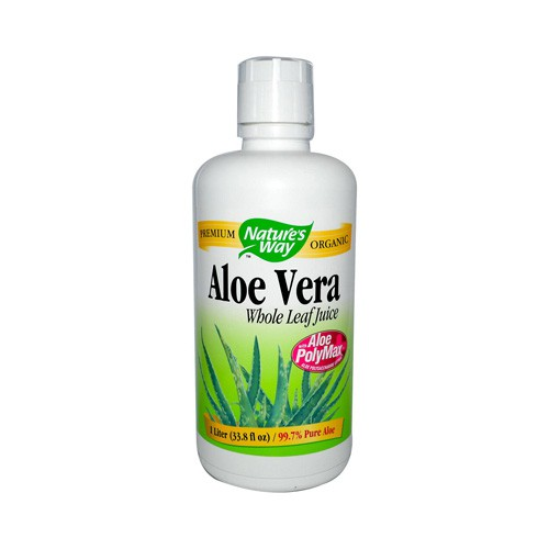 Nature's Way Organic Aloe Vera Whole Leaf