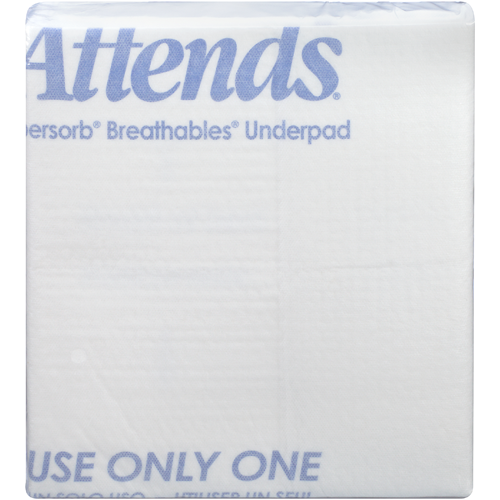 Attends Supersorb Breathable Underpads