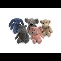 Zoo Elephant, Hippo, Koala, Monkey, Pink Bear and Rabbit
