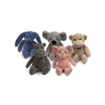 Zoo Elephant, Hippo, Koala, Monkey, Pink Bear and Rabbit
