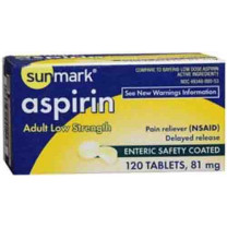 Low Strength Aspirin by Sunmark