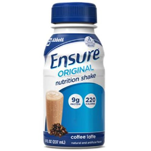 Ensure Original 8 oz Bottles Coffee Latte - 8 oz