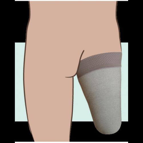 Juzo Silver Dynamic Above the Knee Stump Shrinker 20-30 mmHg