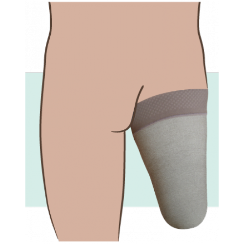 Juzo Silver Dynamic Above the Knee Stump Shrinker 30-40 mmHg