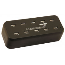 10 Port Multi Charger for Garmin Alpha, DC50, TT10, T5 or TT15