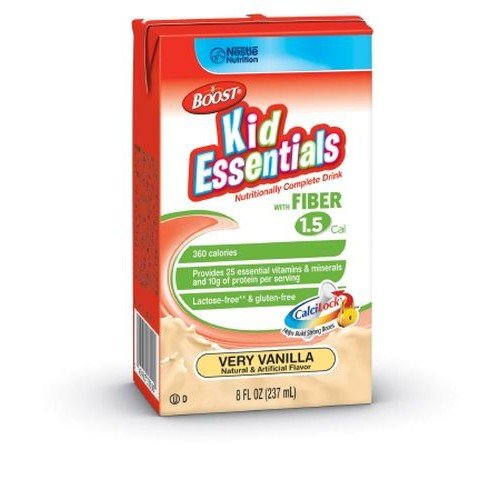 BOOST KID ESSENTIALS 1.5 Very Vanilla with Fiber - 8 oz