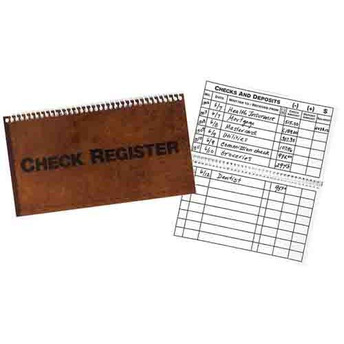 Low Vision Check Register