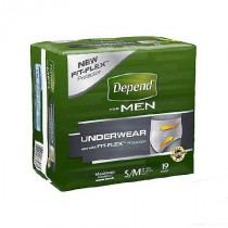 Depend Flex Fit Briefs For Men