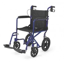 Aluminum Transport Chair with 12 Inch Wheels