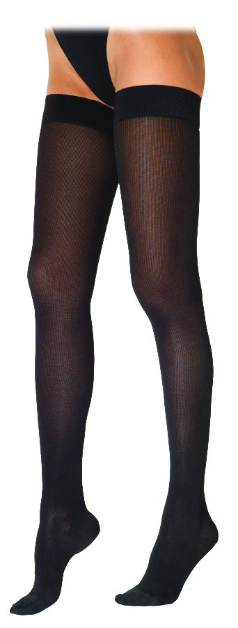 sigvaris 230 cotton series women s thigh high compression