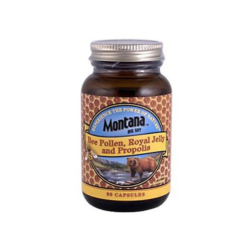 Montana Bee Pollen Royal Jelly and Propolis