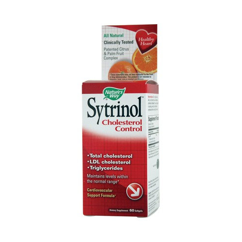 Natures Way Sytrinol Cholesterol Control
