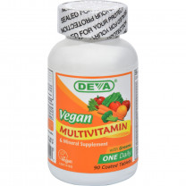 Deva Vegan Multivitamin and Mineral Supplement