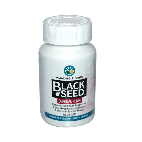 Amazing Herbs Black Seed Herbal Dietary Supplement