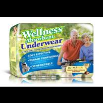 Wellness Absorbent Underwear - Maximum Absorbency