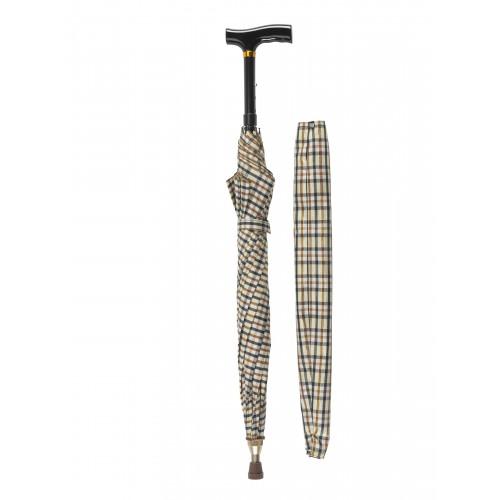 Umbrella Cane Offset T Handle