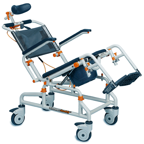 ShowerBuddy Roll-In Buddy Tilt Shower Transfer Chair