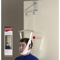 Cervical Traction Kit with Over Door Head Halter