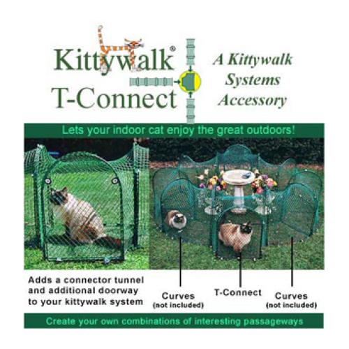 Kittywalk Single T Connect Unit