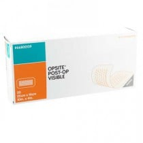 OpSite Post-Op Visible 10 x 4 Inch Absorbent Transparent Dressing 66800139