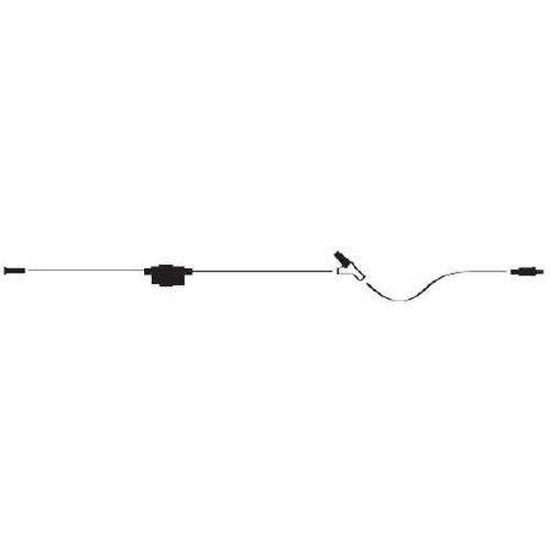 Extension Set, Macrobore, Clave Y-Site, Dial-A-Flo Flow Controller