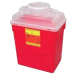 BD Stackable Sharps Container Large Funnel with Clear Top 305465