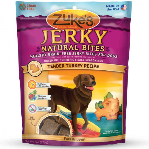 Jerky Naturals Healthy Grain Free Treats for Dogs Tendy Turkey