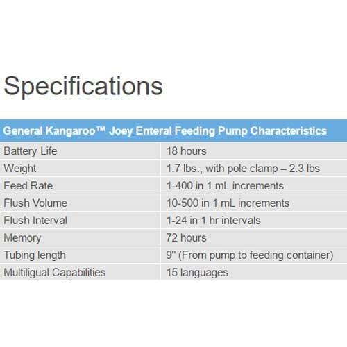 kangaroo joey feeding pump instructions