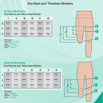 Juzo Silver Dynamic Below the Knee Stump Shrinker 30-40 mmHg