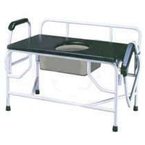 Extra Large Heavy Duty Bariatric Drop Arm Commode by Drive