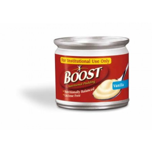 Boost Vanilla Pudding