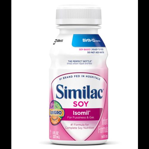 Similac Soy Isolmil 20 Calorie 8 Ounce Bottle