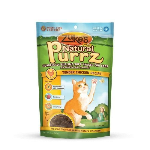 Natural Purrz Healthy Moist Treats for Cats