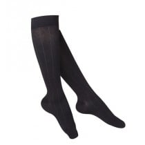 Women's Intelligent Rib Pattern Compression Socks 15-20 mmHg