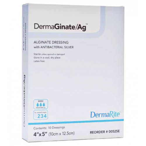 DermaGinate Ag Alginate Dressing with Antibacterial Silver