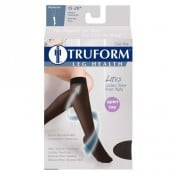 LITES Knee High Compression Stockings Open Toe 15-20 mmHg