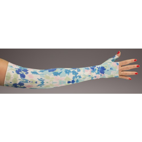 LympheDivas Chole Compression Arm Sleeve 30-40 mmHg w/ Diva Diamond Band