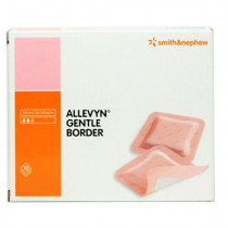 Smith and Nephew Allevyn Gentle Border Foam Dressing