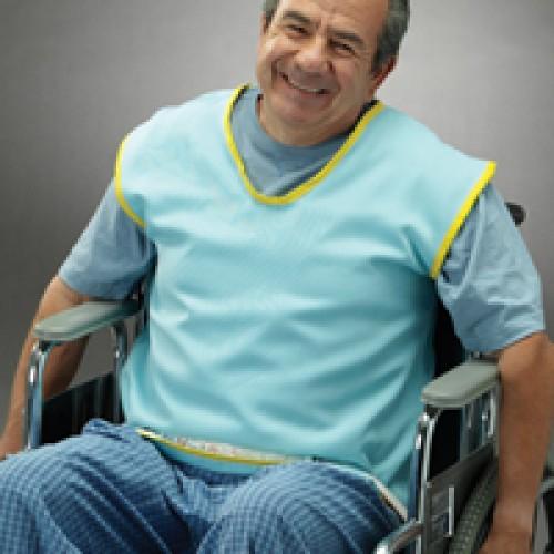 Posey Safety Vest - Flame Retardant, Tie Straps