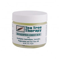 Tea Tree Therapy Eucalyptus Chest Rub Eucalyptus Australiana Lavender Peppermint and Tea Tree Oil