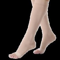 Jobst Relief Knee High Unisex Compression Socks OPEN TOE 15-20 mmHg