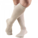 TRUFORM Men's Casual and Athletic Knee High Socks Tan
