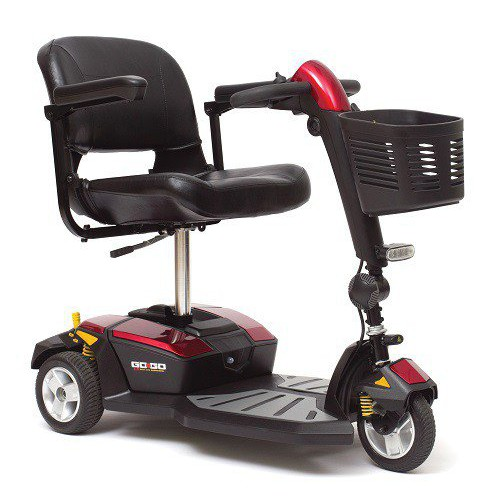 Pride Mobility Pride Go-Go LX 3-Wheel Scooter with CTS Suspension SC50LX
