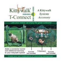 Kittywalk Single T Connect Unit