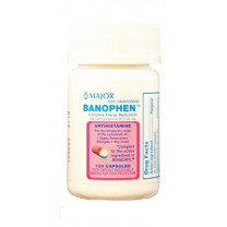 Banophen Allergy Relief Capsules