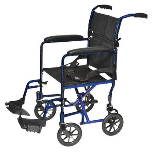 ProBasics 19 Inch Lightweight Aluminum Transport Wheelchair